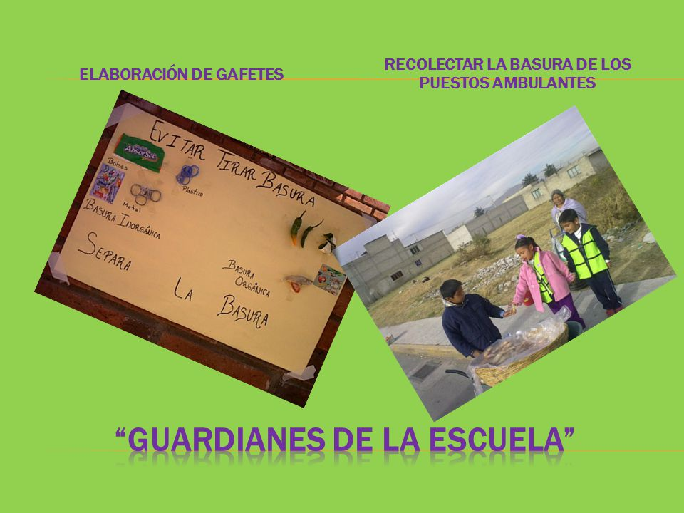 GUARDIANES DE LA ESCUELA