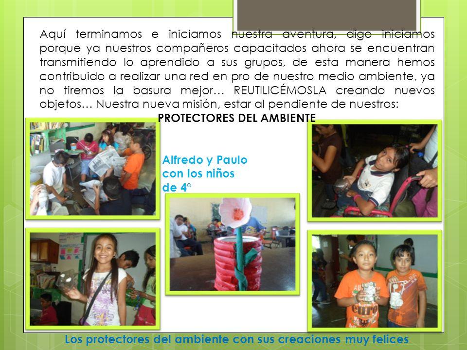 PROTECTORES DEL AMBIENTE