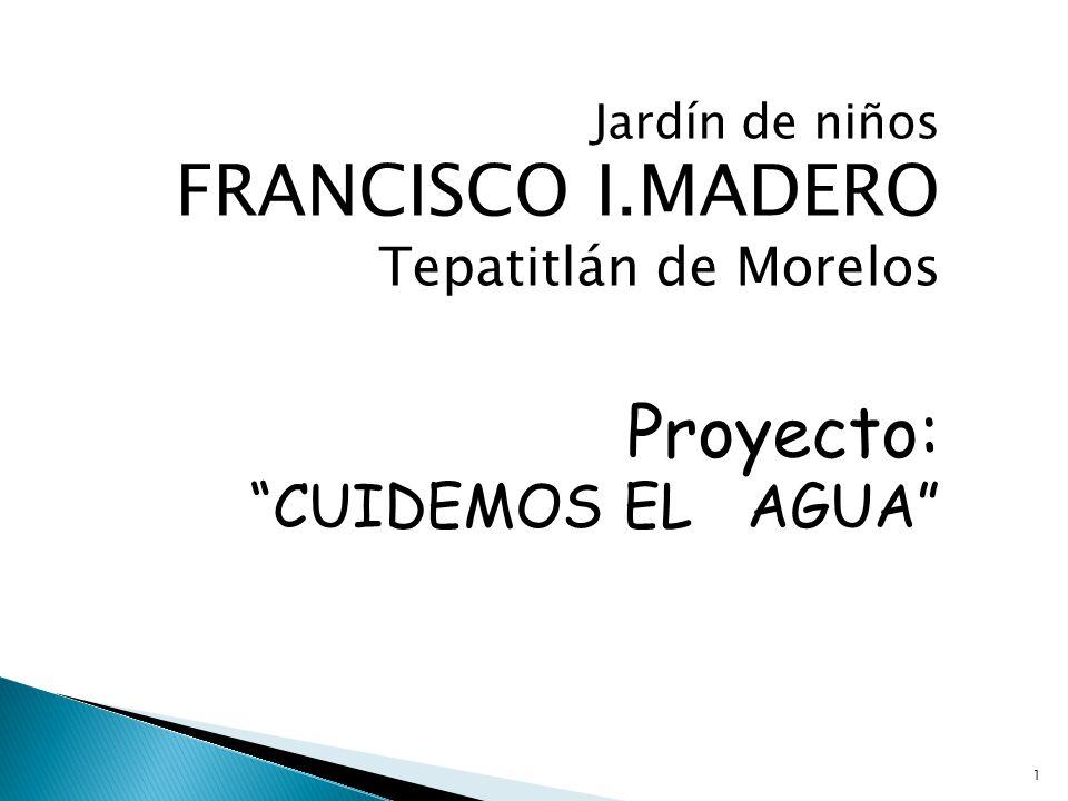 Proyecto: CUIDEMOS EL AGUA