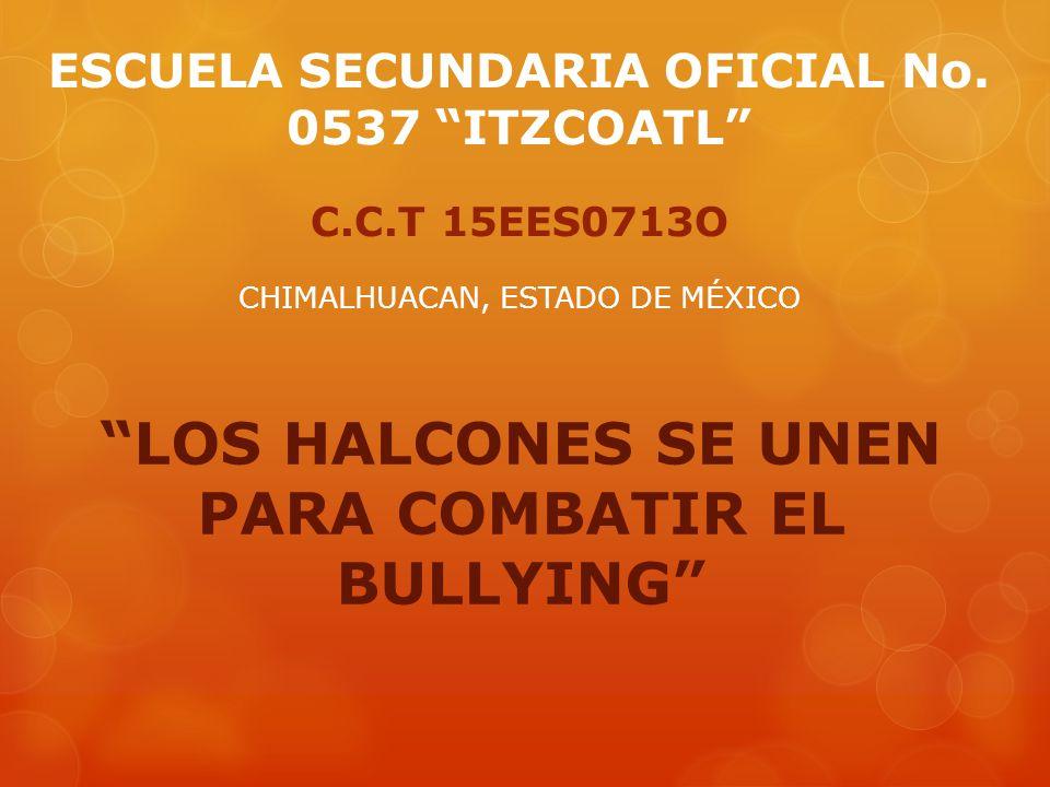 LOS HALCONES SE UNEN PARA COMBATIR EL BULLYING