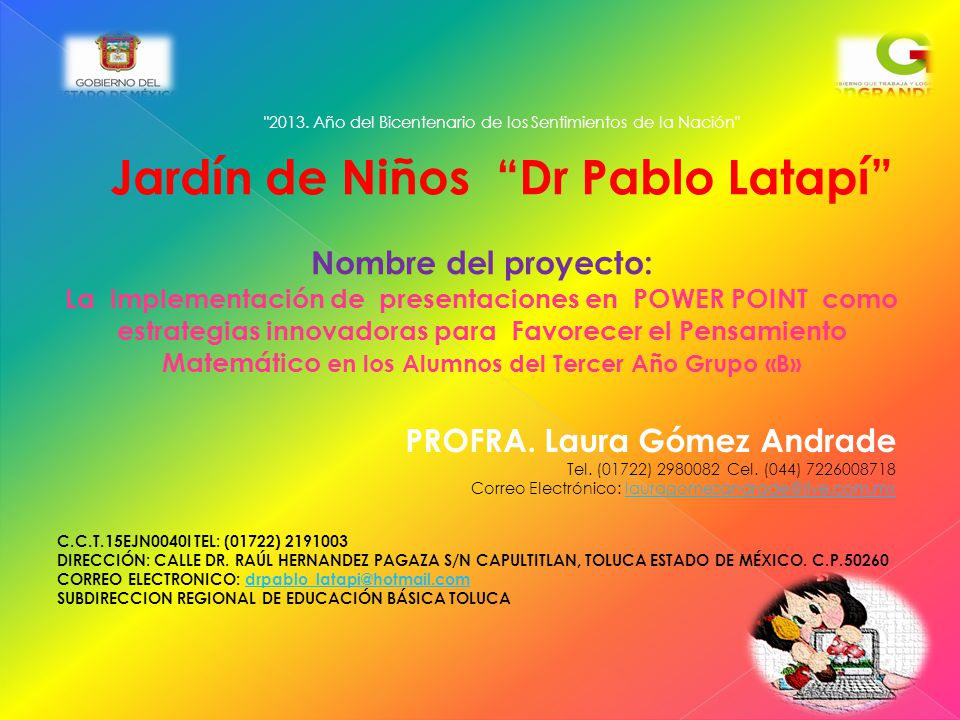 Jardín de Niños Dr Pablo Latapí