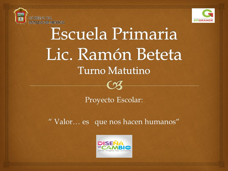 Escuela Primaria Lic. Ramón Beteta Turno Matutino