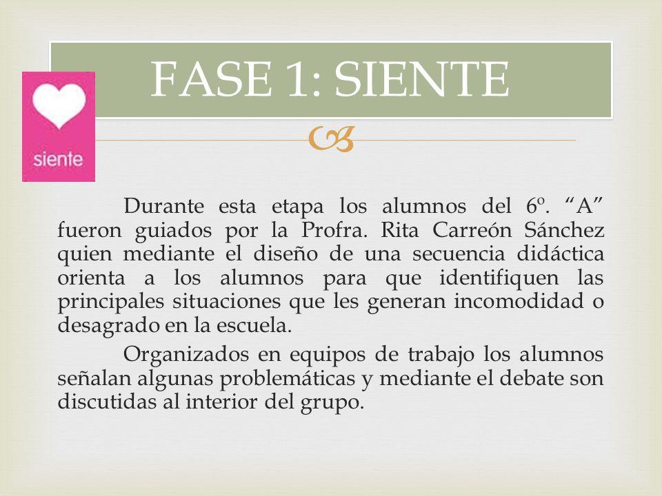 FASE 1: SIENTE