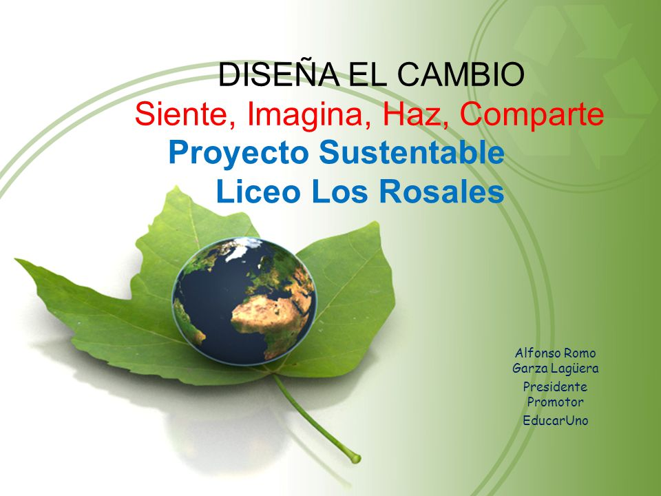 Proyecto Sustentable Liceo Los Rosales
