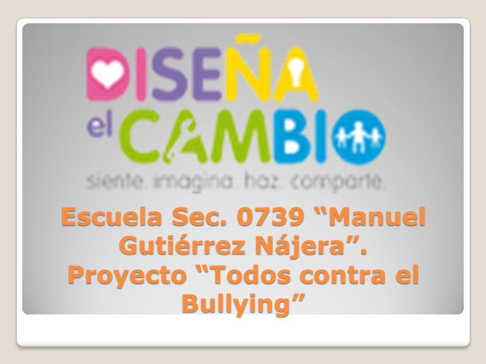 Escuela Sec. 0739 Manuel Gutiérrez Nájera