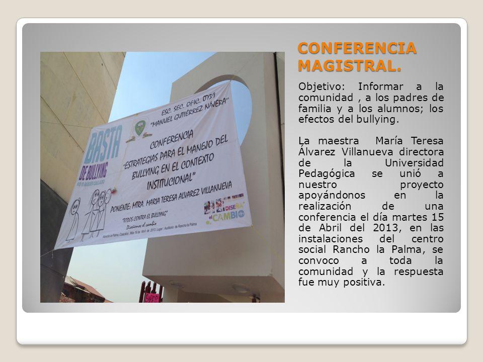 CONFERENCIA MAGISTRAL.