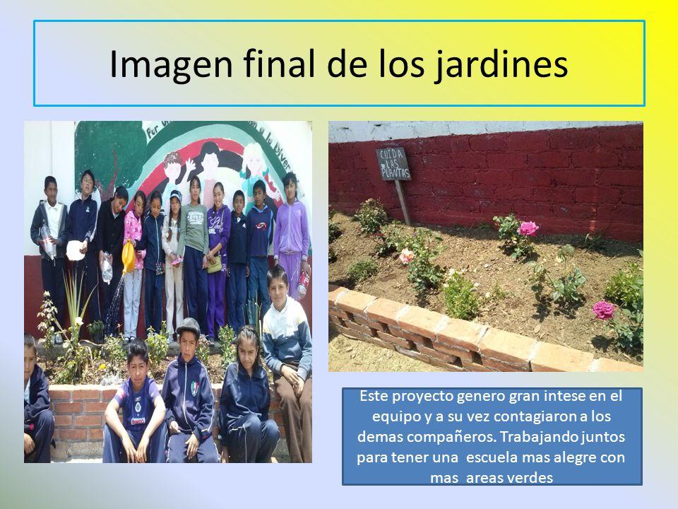 Imagen final de los jardines