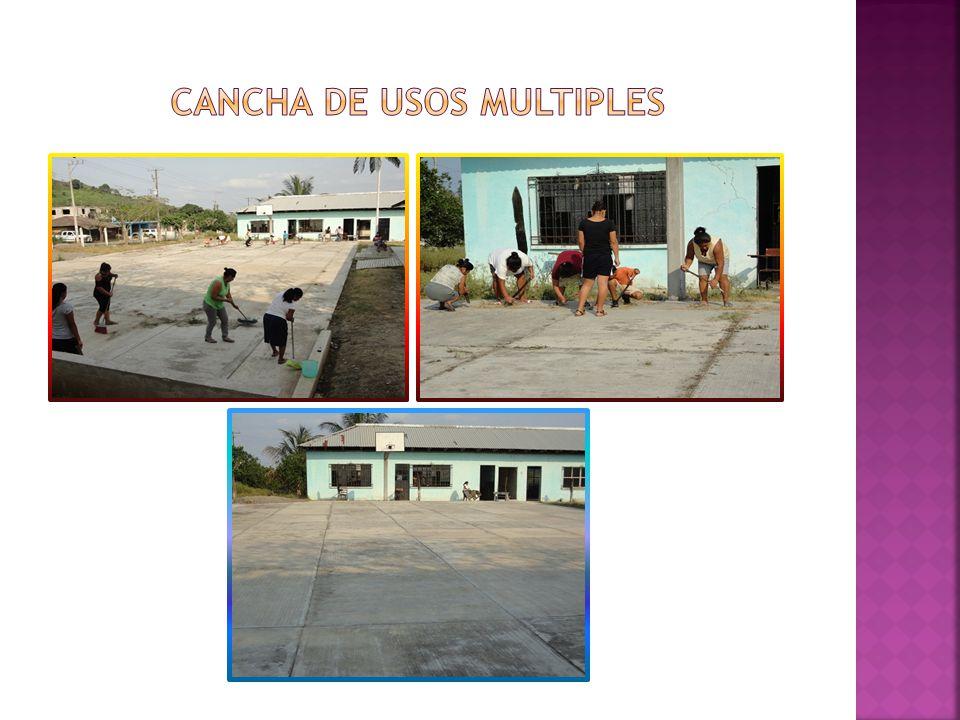 CANCHA DE USOS MULTIPLES