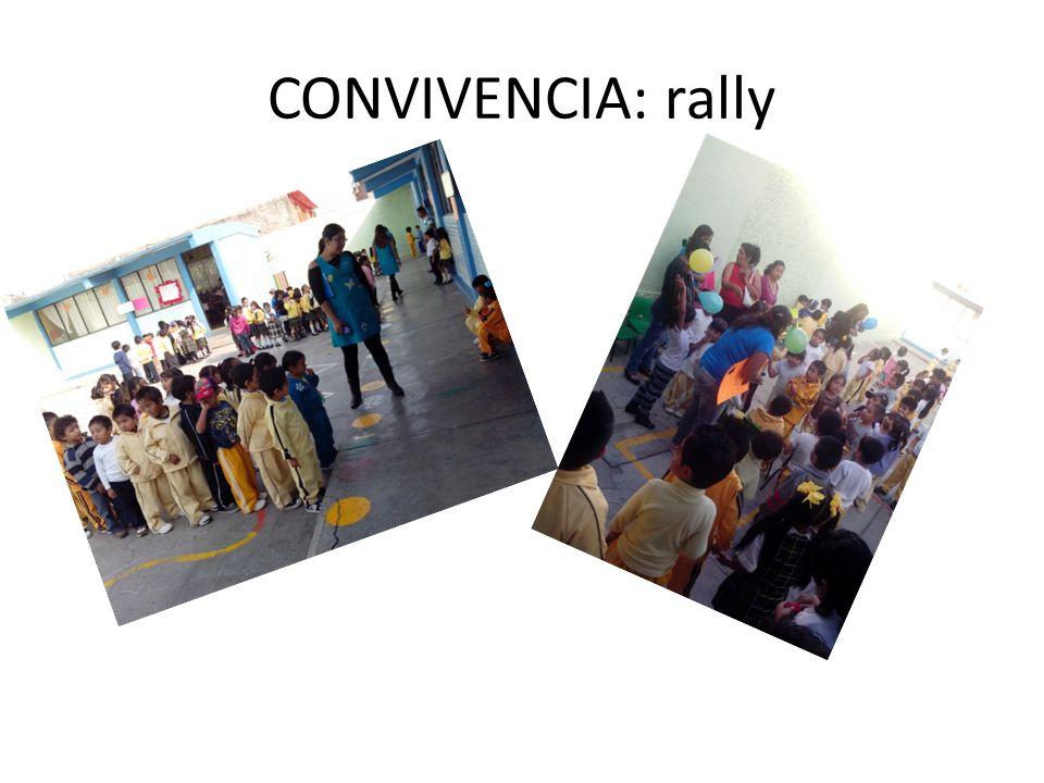 CONVIVENCIA: rally