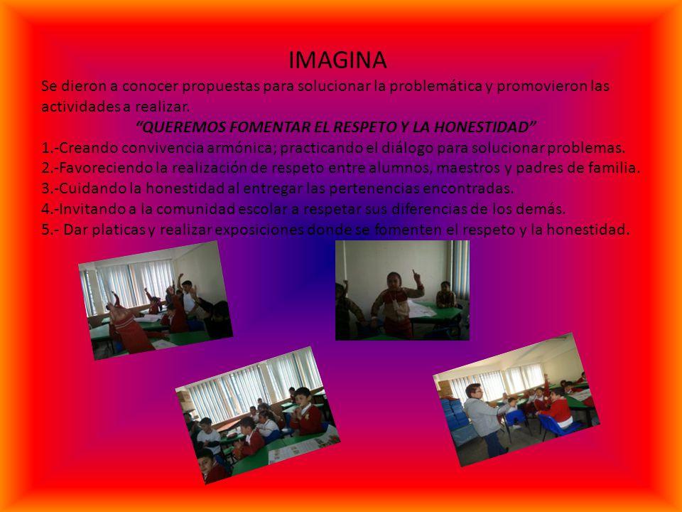 IMAGINA Se dieron a conocer propuestas para solucionar la problemática y promovieron las actividades a realizar.