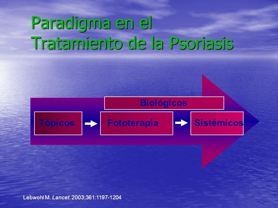 Paradigma en el Tratamiento de la Psoriasis