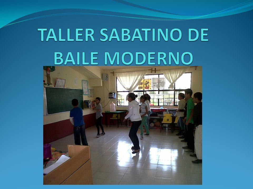 TALLER SABATINO DE BAILE MODERNO