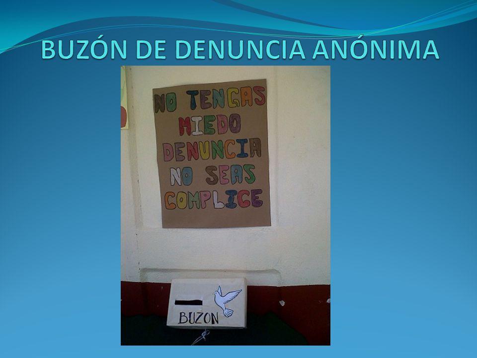 BUZÓN DE DENUNCIA ANÓNIMA