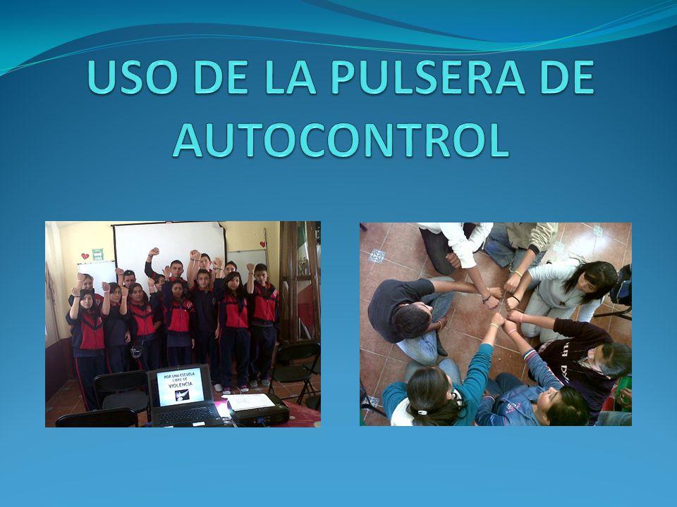 USO DE LA PULSERA DE AUTOCONTROL