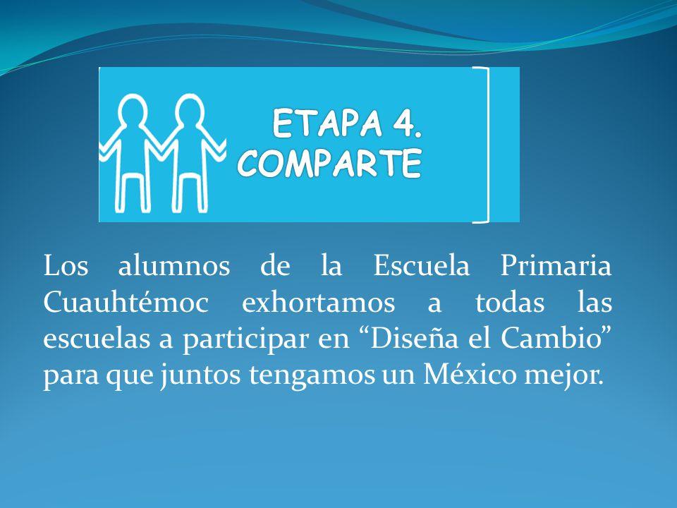 ETAPA 4. COMPARTE.