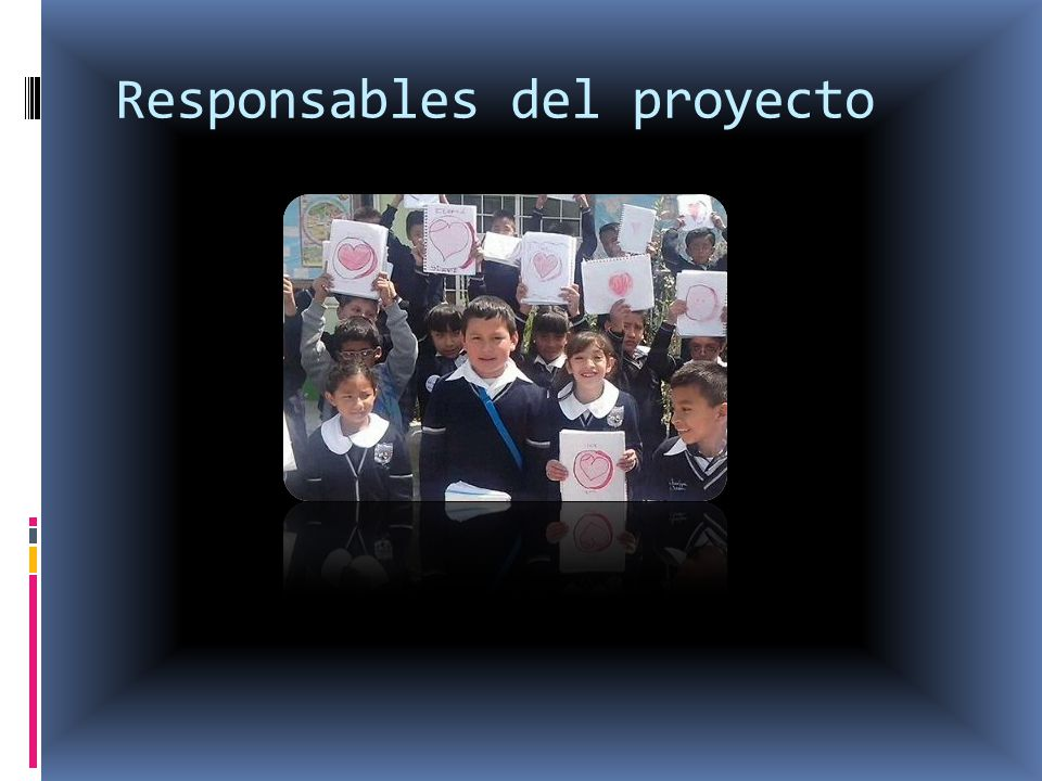 Responsables del proyecto