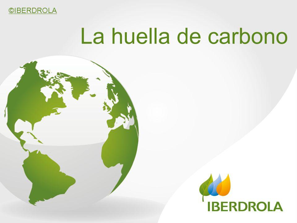 ©IBERDROLA La huella de carbono