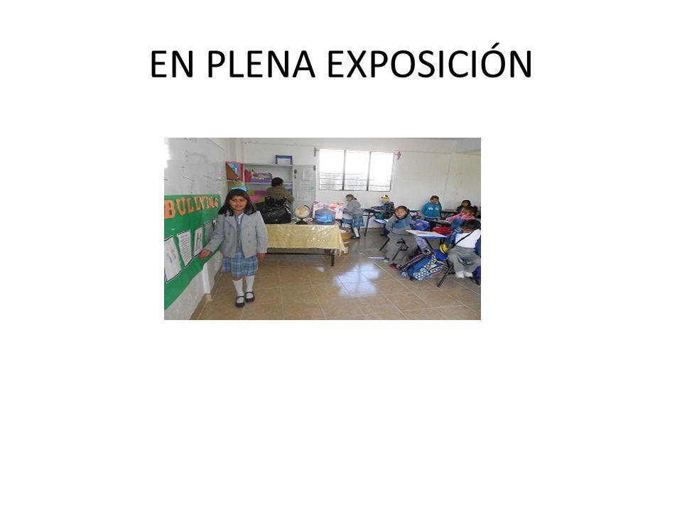 EN PLENA EXPOSICIÓN