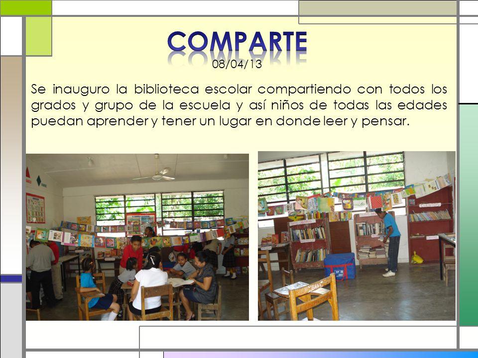 COMPARTE 08/04/13.