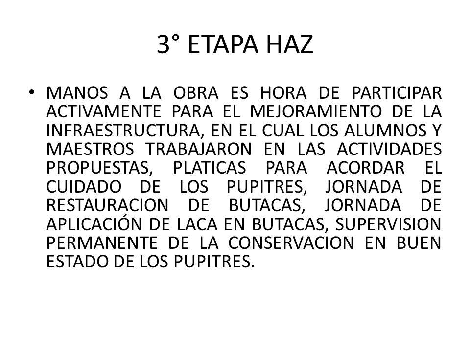 3° ETAPA HAZ
