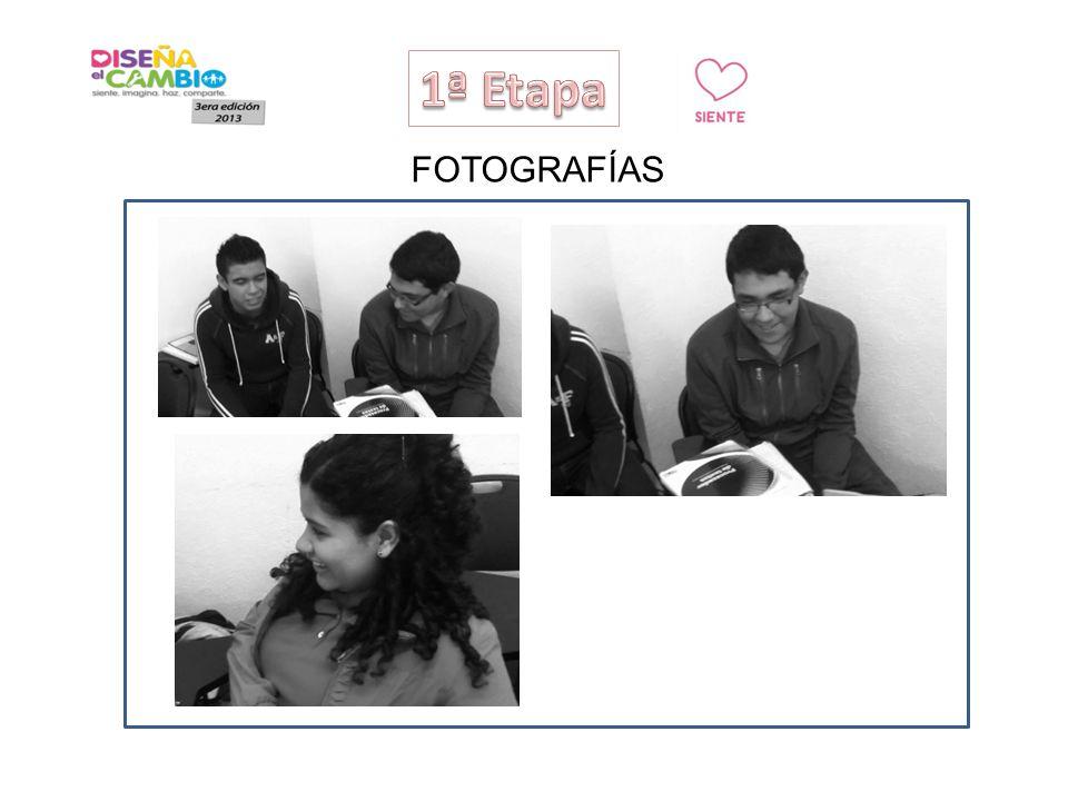 1ª Etapa FOTOGRAFÍAS