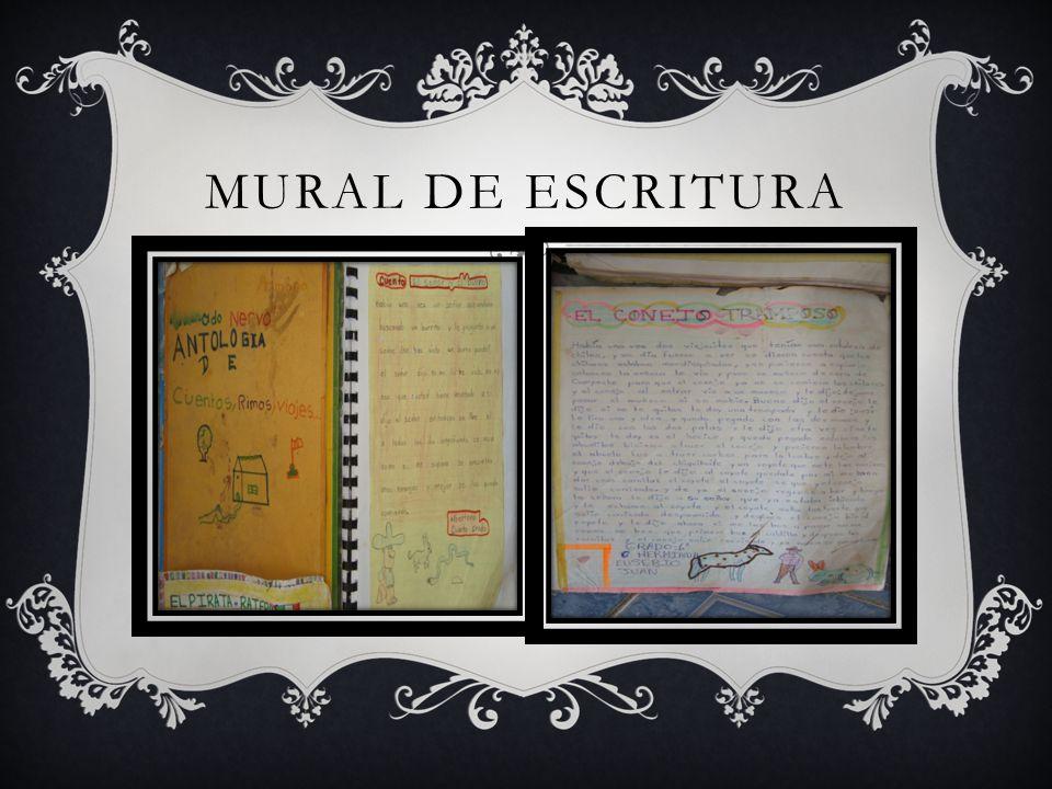 MURAL DE ESCRITURA