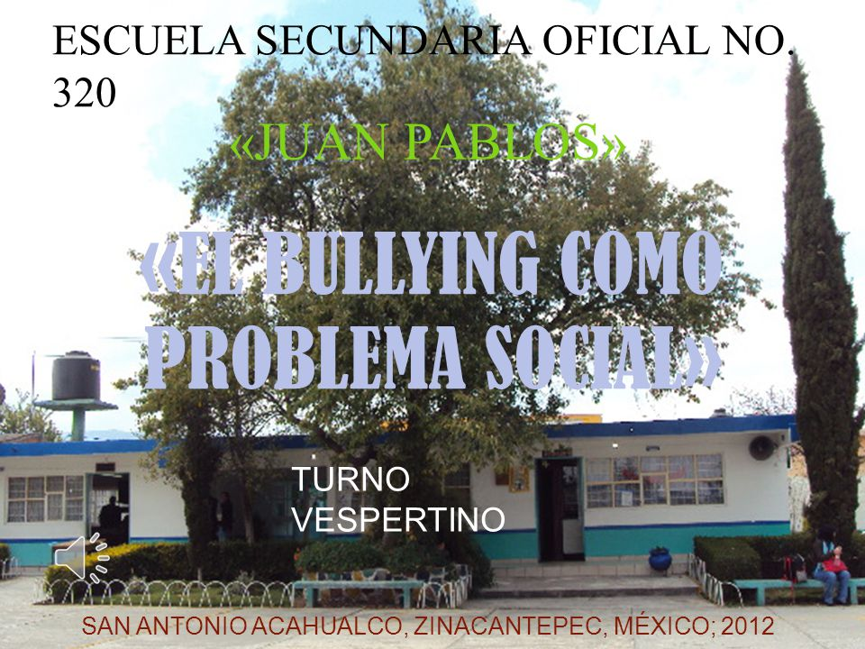 ESCUELA SECUNDARIA OFICIAL No. 320