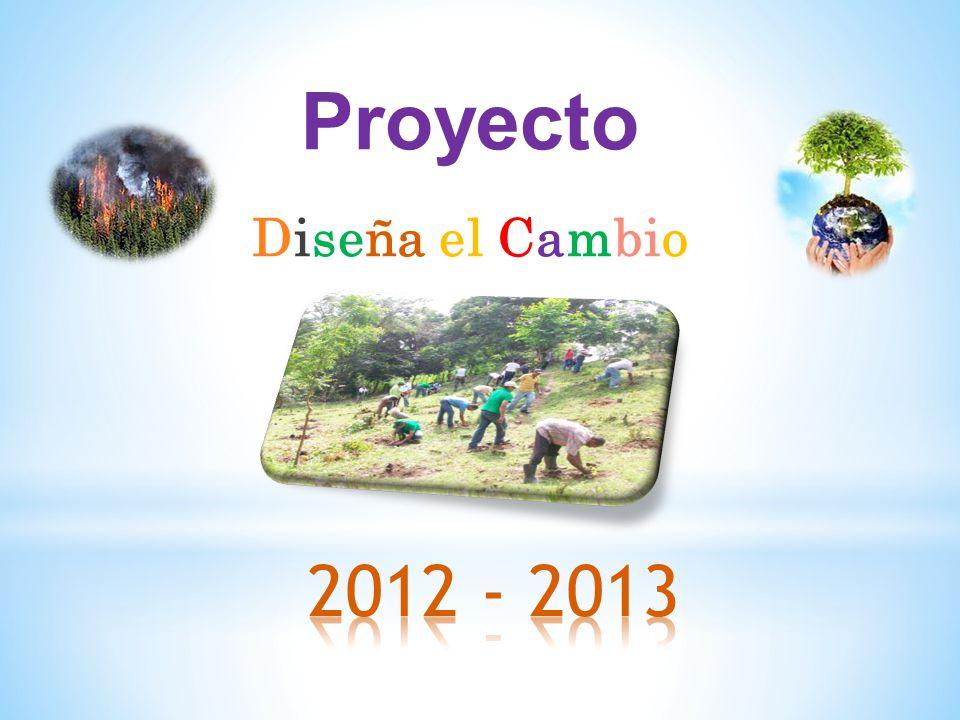 Proyecto Diseña el Cambio 2012 - 2013