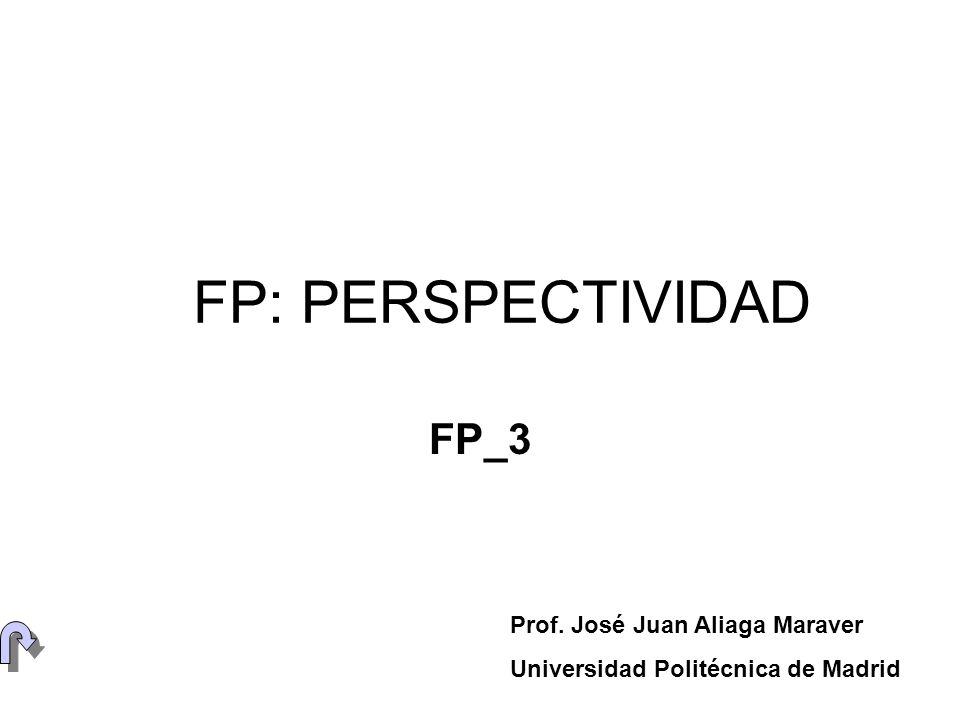 FP: PERSPECTIVIDAD FP_3 Prof. José Juan Aliaga Maraver