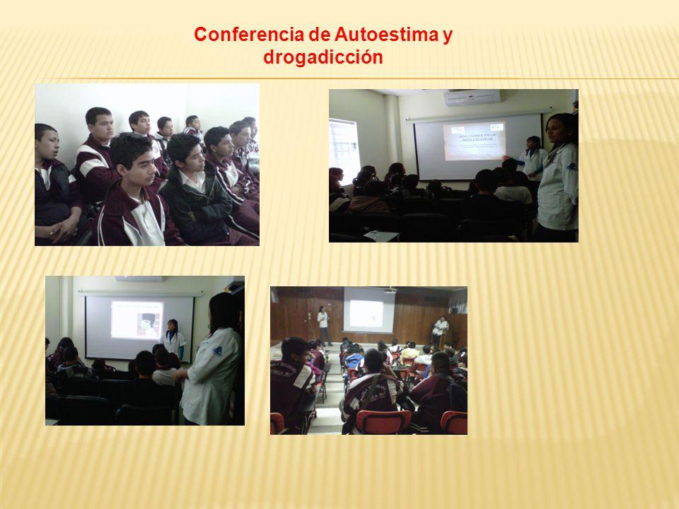 Conferencia de Autoestima y drogadicción