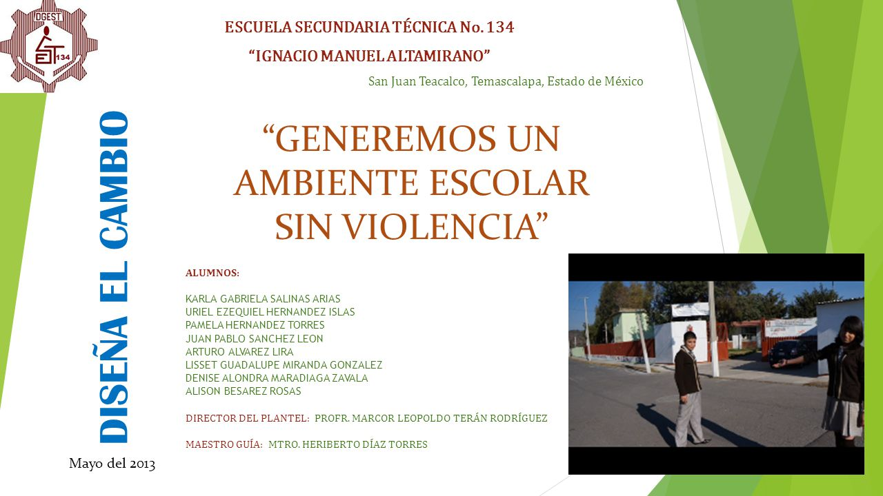 ESCUELA SECUNDARIA TÉCNICA No. 134 IGNACIO MANUEL ALTAMIRANO