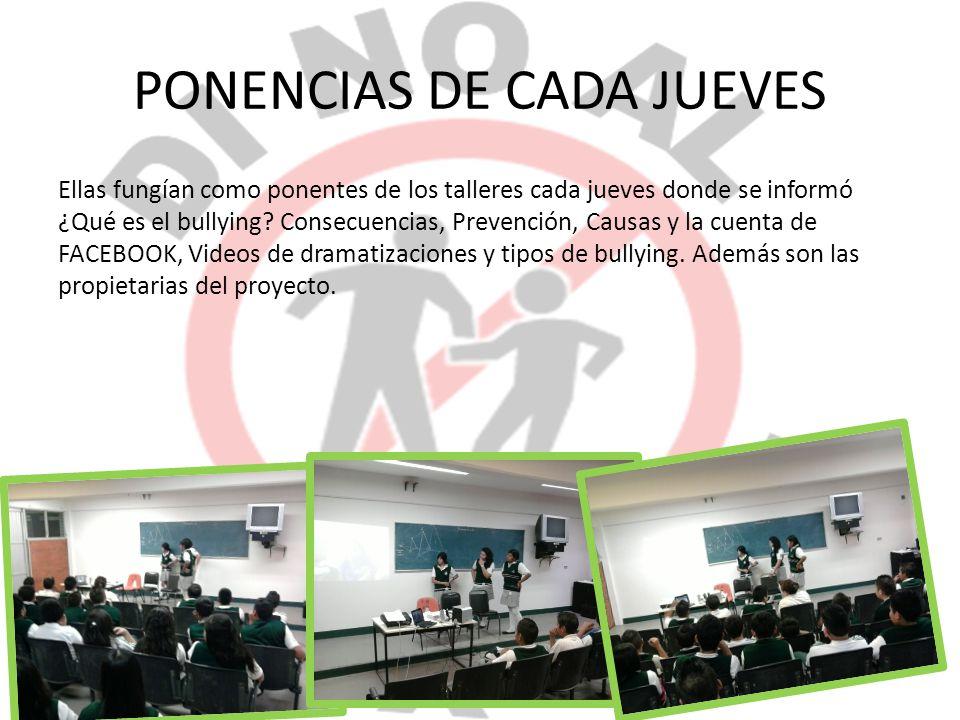 PONENCIAS DE CADA JUEVES