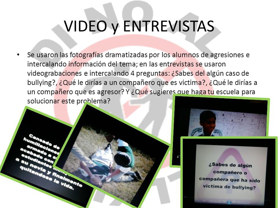 VIDEO y ENTREVISTAS