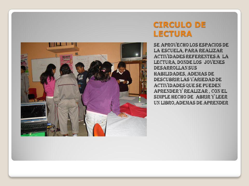 CIRCULO DE LECTURA