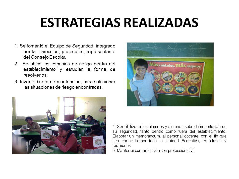 ESTRATEGIAS REALIZADAS
