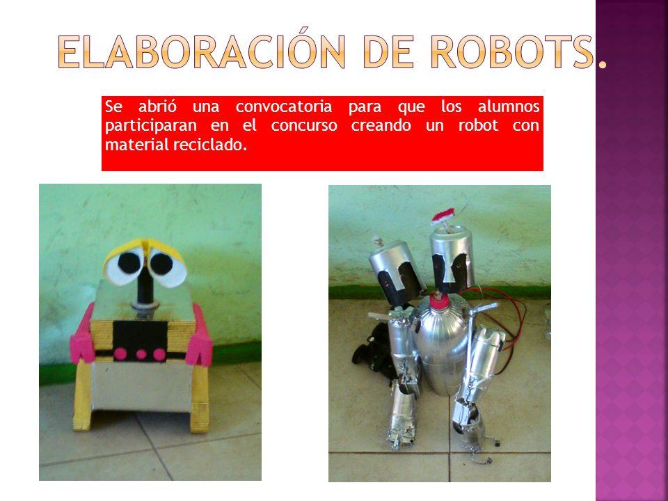Elaboración de robots.
