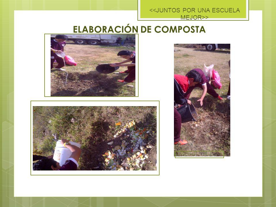 ELABORACIÓN DE COMPOSTA