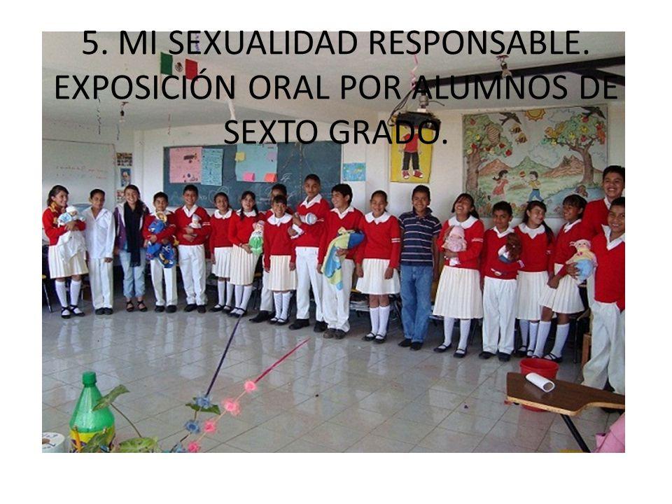 5. MI SEXUALIDAD RESPONSABLE