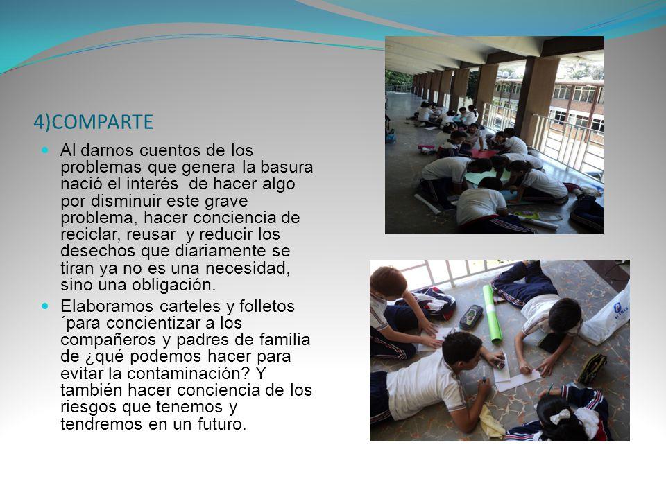 4)COMPARTE