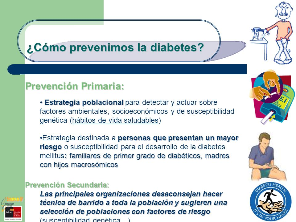 ¿Cómo prevenimos la diabetes