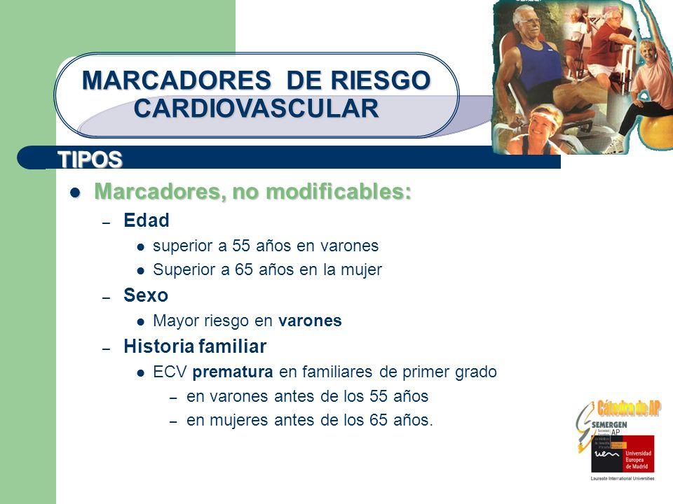 MARCADORES DE RIESGO CARDIOVASCULAR
