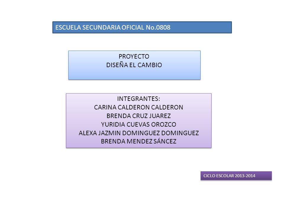 ESCUELA SECUNDARIA OFICIAL No.0808