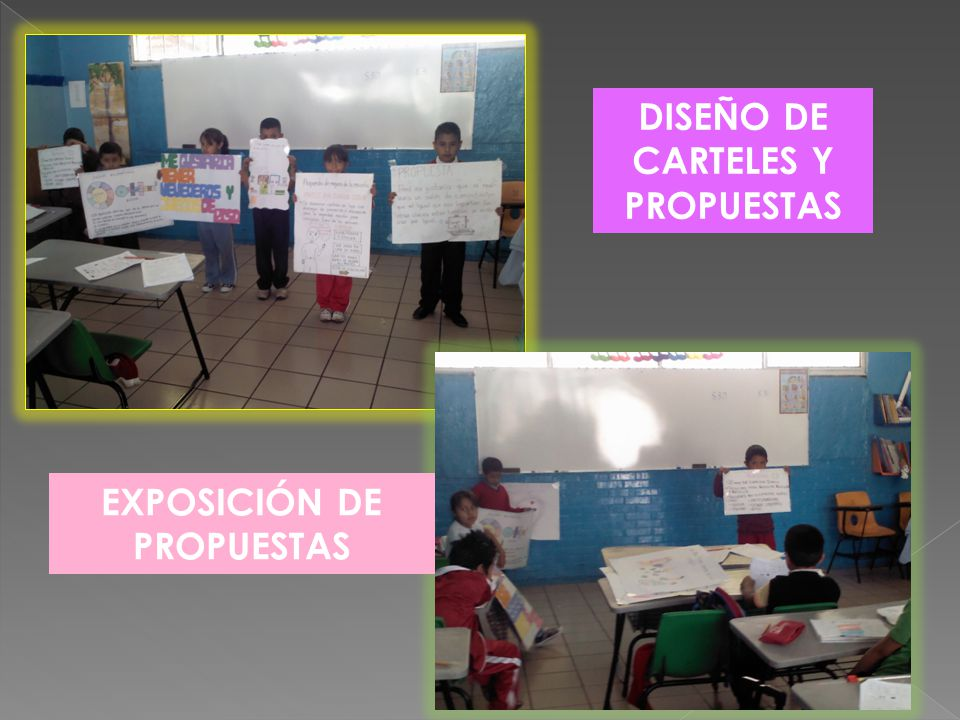 DISEÑO DE CARTELES Y PROPUESTAS EXPOSICIÓN DE PROPUESTAS