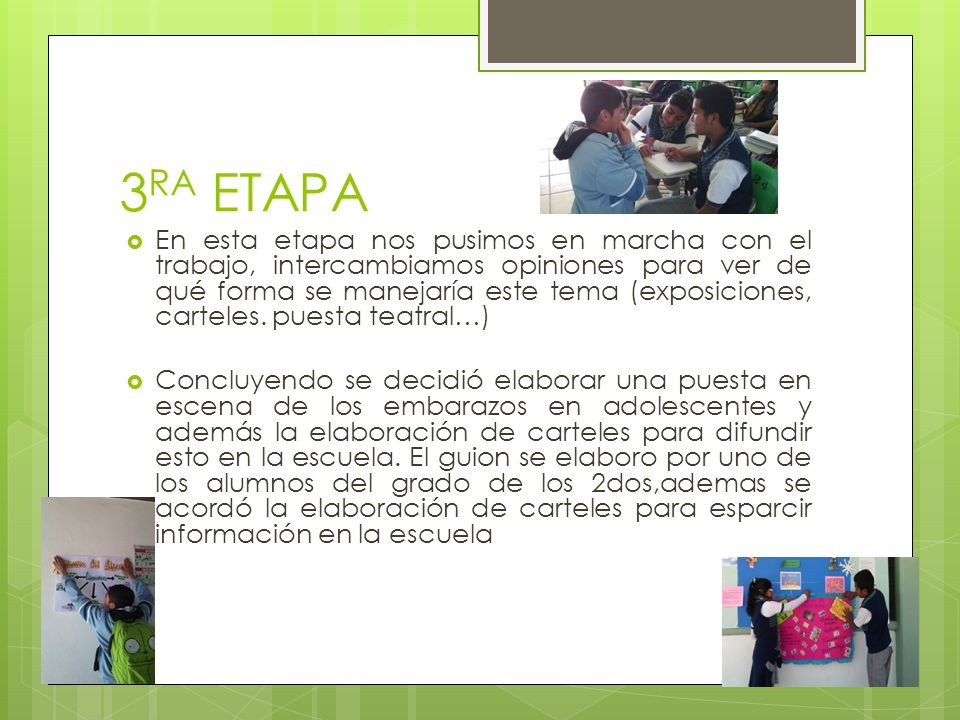 3RA ETAPA