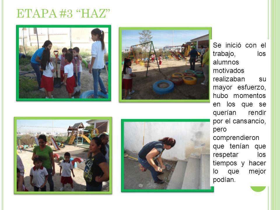 ETAPA #3 HAZ