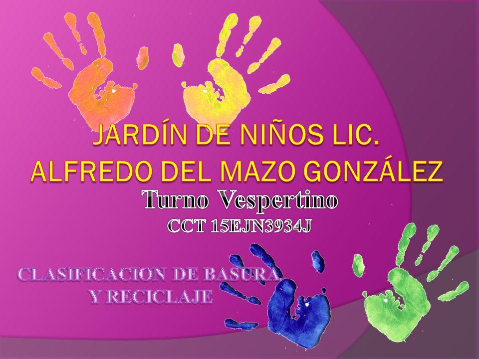 Jardín de niños lic. Alfredo del mazo González