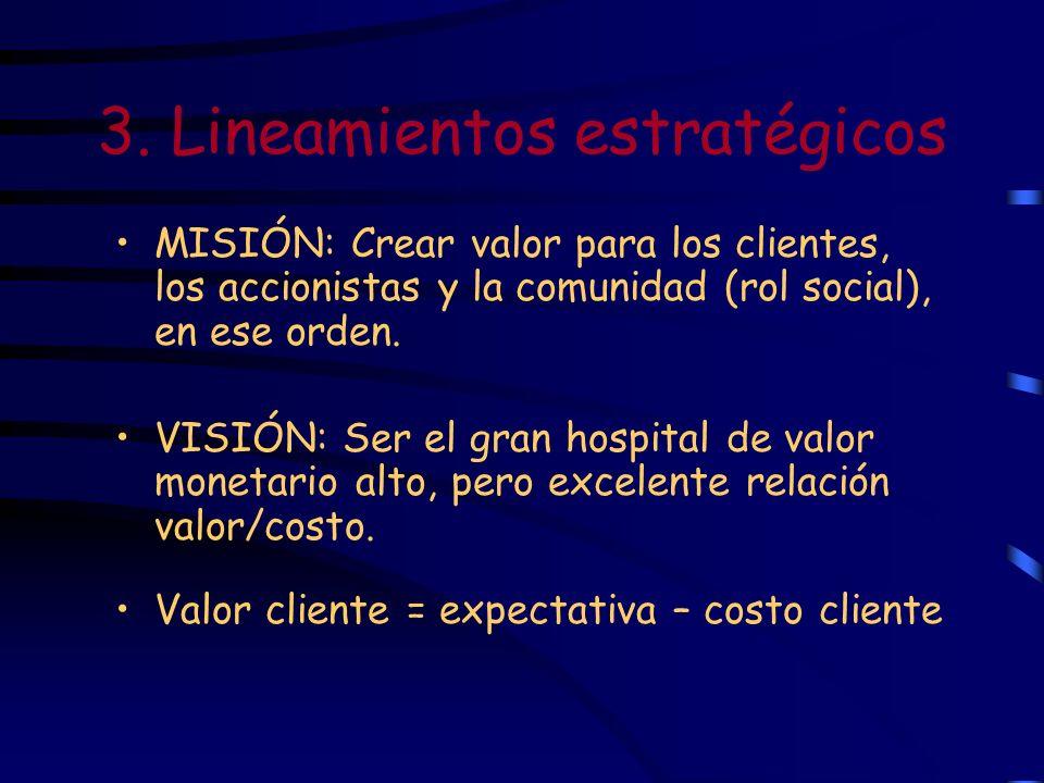 3. Lineamientos estratégicos