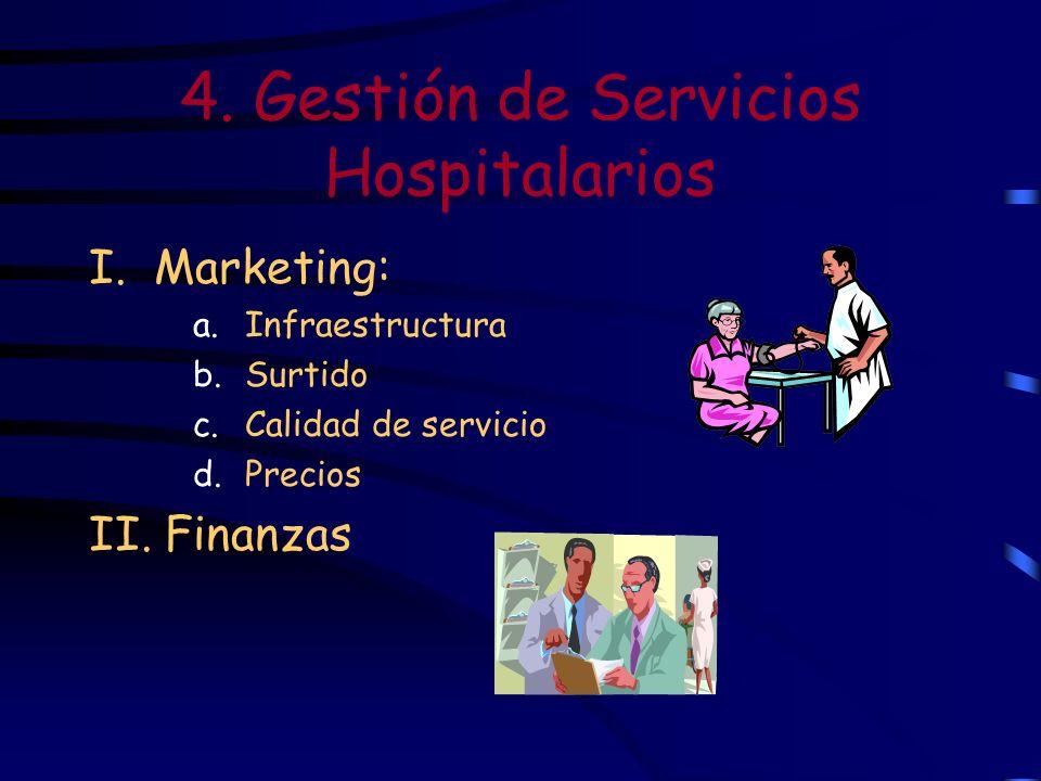4. Gestión de Servicios Hospitalarios