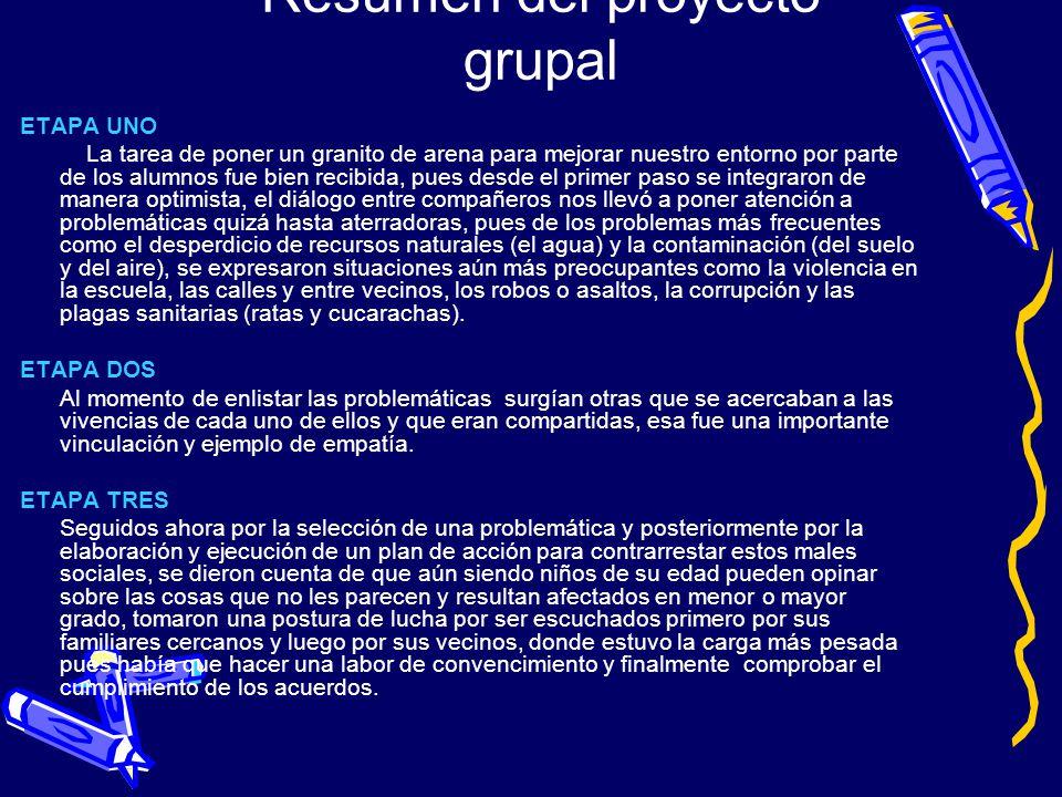 Resumen del proyecto grupal