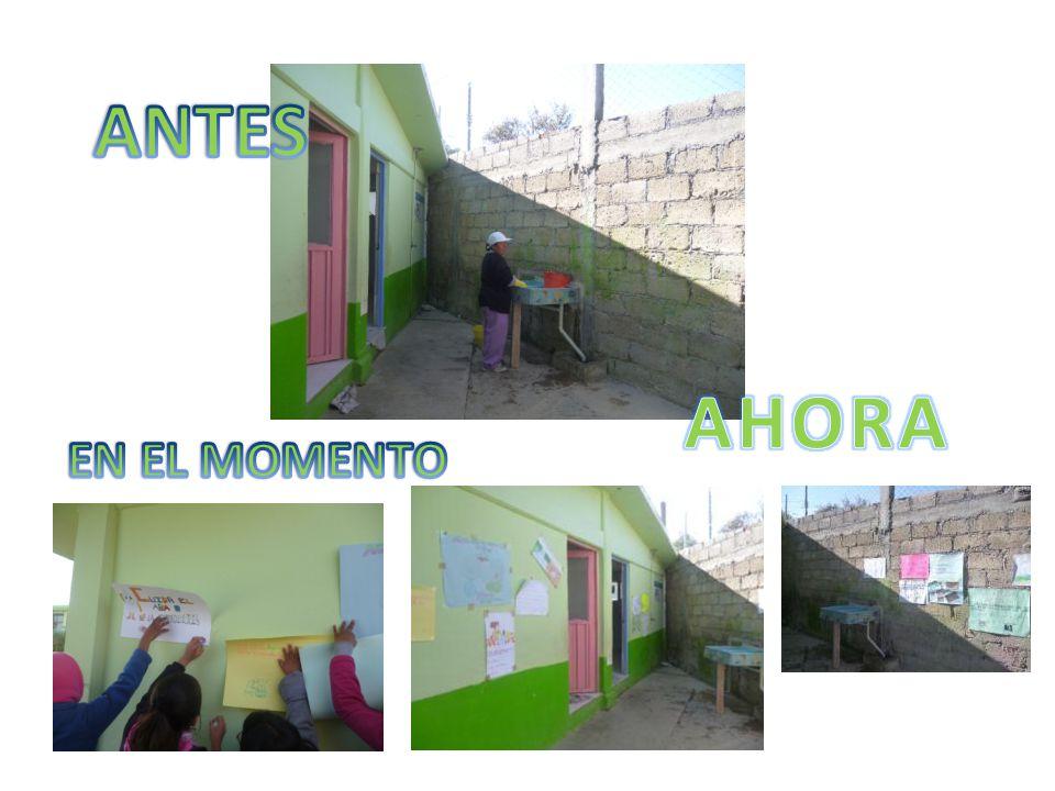 ANTES AHORA EN EL MOMENTO